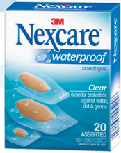 Nexcare-Waterproof-Bandages