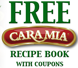 FREE Cara Mia Recipe Book and Coupons